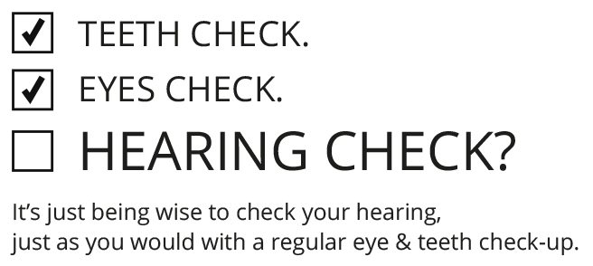 An audiologist can check your hearing